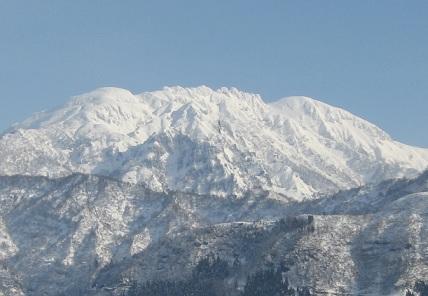 2014正月の八つ峰